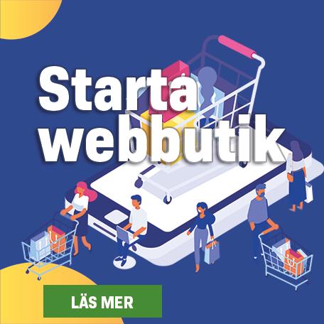 Starta webbutik